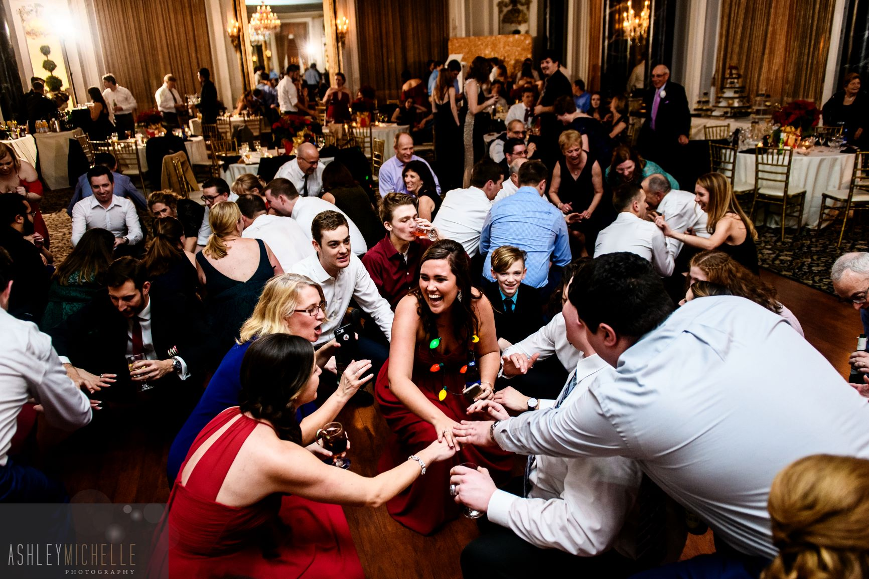 DJ Greyhound provides dj services for weddings in PA, MD, DC, and VA.  Photo courtesy of Ashley Michelle Photography.