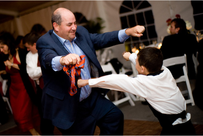 Dancing at Reception, Professional DJ Services, Baltimore, MD